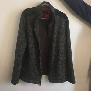 Banana Republic fleece lined jacket